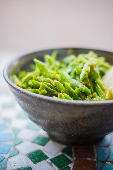 Gujarati Green Beans Handmade Mixes For Home Cooked Curries