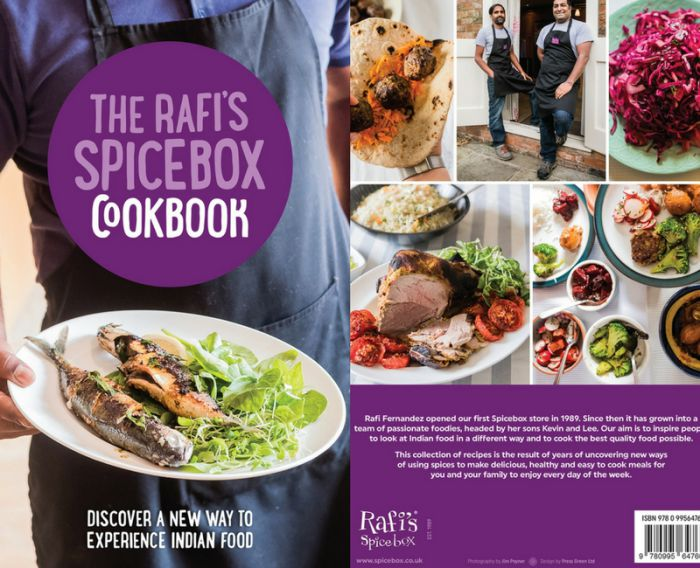 The Rafi's Spicebox Cookbook - AVAILABLE NOW!