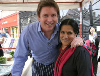 Rafi and James Martin