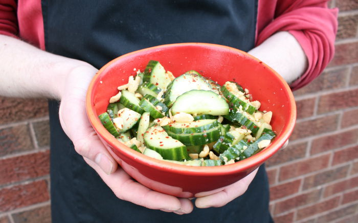Cucumber and Peanut Salad by Rafi's Spicebox