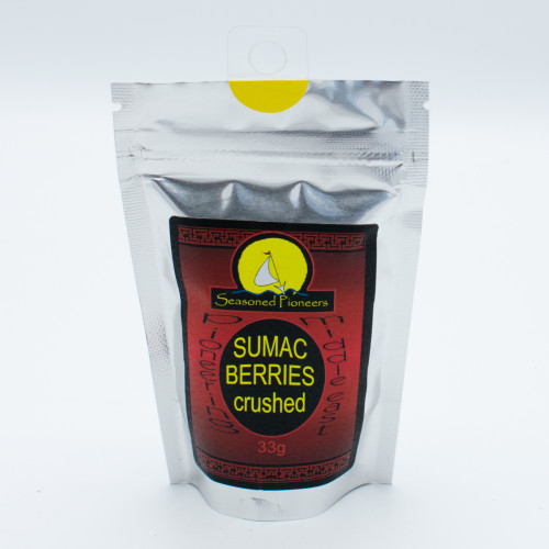 Seasoned Pioneers Sumac Berries Crushed 33g
