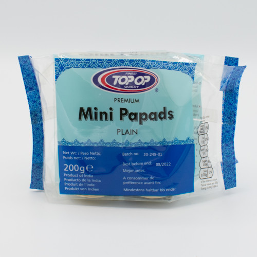 Mini Plain Papads