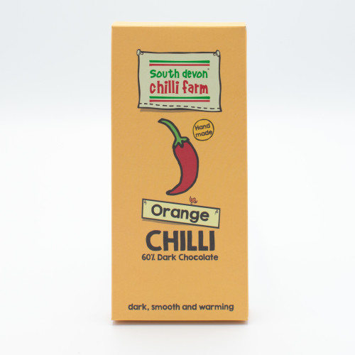 South Devon Chilli Farm's Chilli Chocolate (Orange)