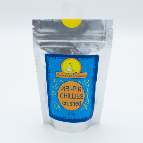 Seasoned Pioneers Piri-Piri Chillies Crushed 25g
