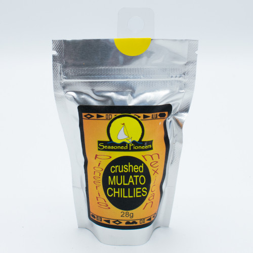 Seasoned Pioneers Crushed Mulato Chillies 28g