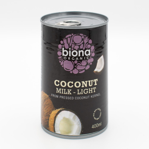 Biona Organic Coconut Milk - Light 400ml