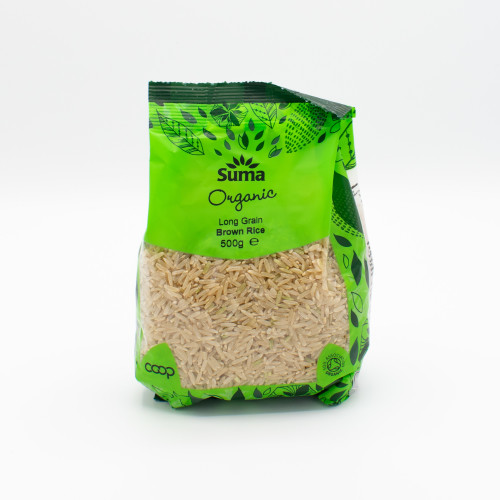 Suma Organic Long Grain Brown Rice
