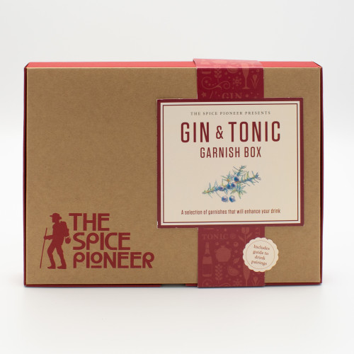 The Spice Pioneer: Gin & Tonic Garnish Box