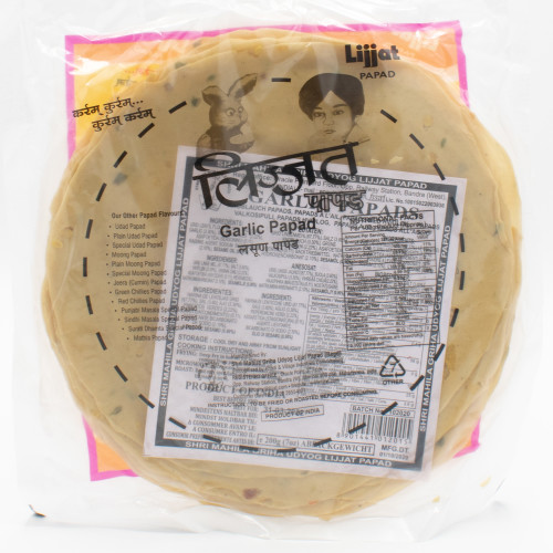 Lijjat Garlic Papads
