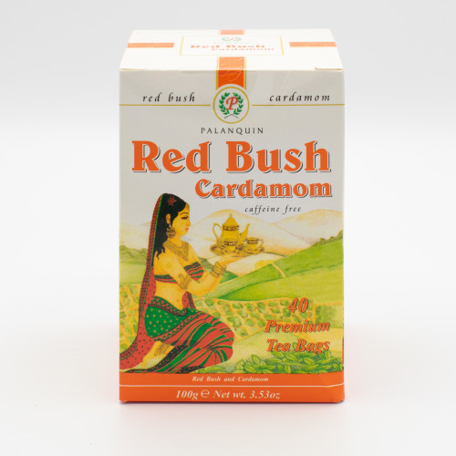 Palanquin Red Bush Cardamon Tea (40 Bags)