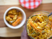 Malay Mixed Vegetable Pickle (Acar)