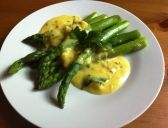 Asparagus with Spiced Buttermilk