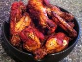 Tandoori chicken wings.